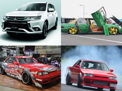 日本ラジコン模型工業会「実車展示」